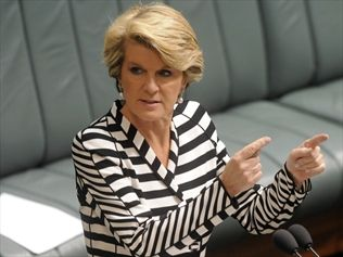 Deputy Opposition Leader and trade spokesperson, Julie Bishop