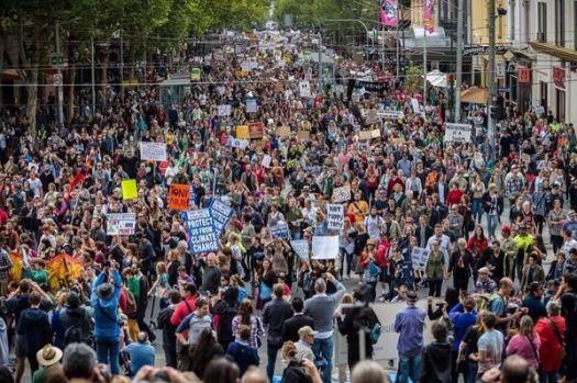 Sydney marchers